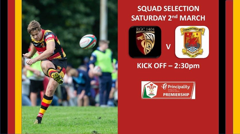 Quins Selection for Trip North