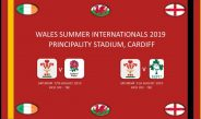 WALES SUMMER INTERNATIONALS