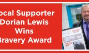 Local Supporter Wins Bravery Award
