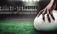 Quins 21 – 12 Swansea