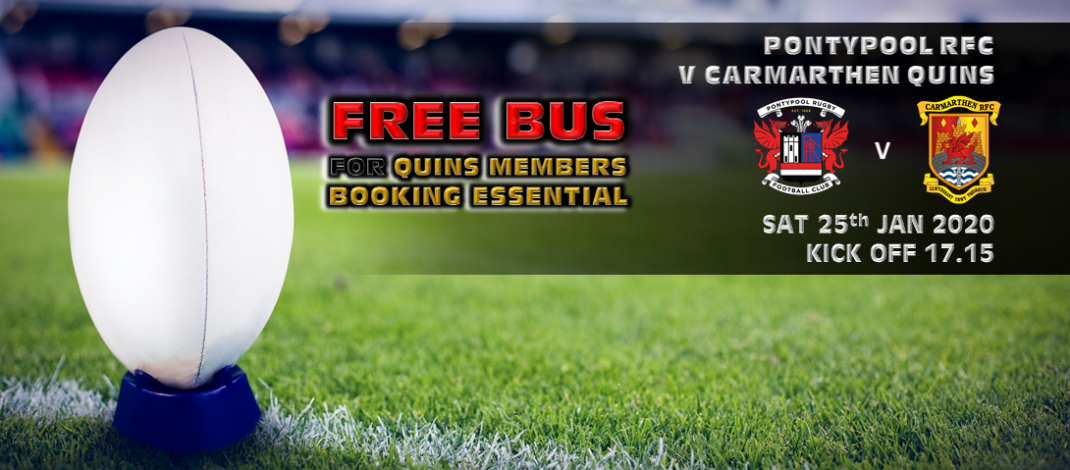 FREE for Quins members and £5 for non members