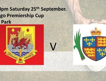 1st XV host Llandovery in Premiership Cup